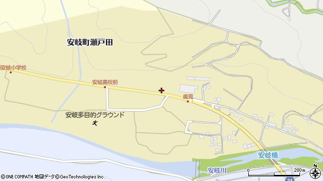 大分県国東市安岐町瀬戸田1240周辺の地図