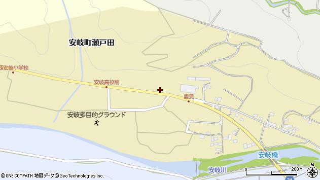 大分県国東市安岐町瀬戸田1241周辺の地図