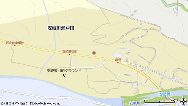 大分県国東市安岐町瀬戸田1243周辺の地図