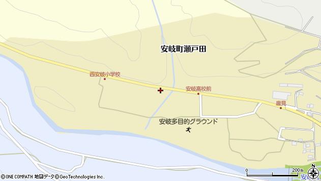 大分県国東市安岐町瀬戸田1414周辺の地図