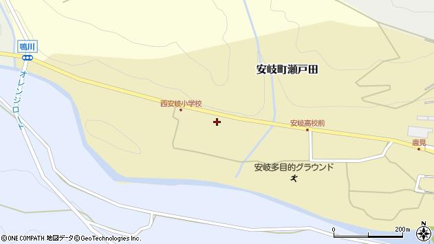 大分県国東市安岐町瀬戸田1423周辺の地図