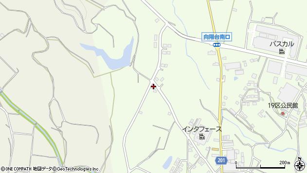 大分県国東市安岐町下原206周辺の地図