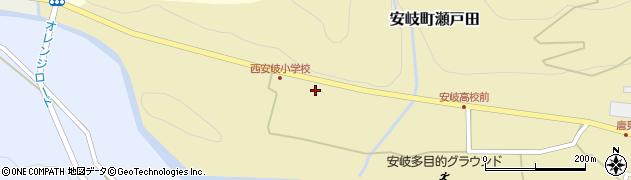 大分県国東市安岐町瀬戸田1439周辺の地図