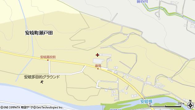 大分県国東市安岐町瀬戸田1035周辺の地図