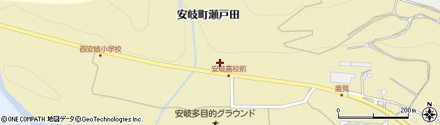 大分県国東市安岐町瀬戸田1294周辺の地図