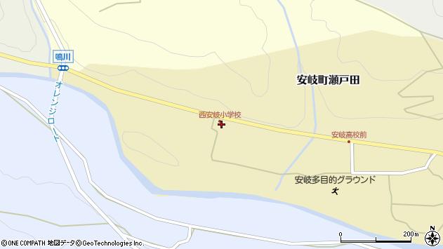 大分県国東市安岐町瀬戸田1443周辺の地図