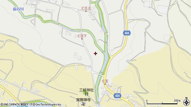 大分県国東市安岐町吉松仁王周辺の地図