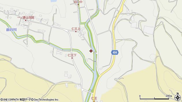 大分県国東市安岐町吉松120周辺の地図