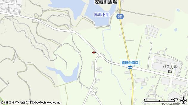大分県国東市安岐町下原25周辺の地図