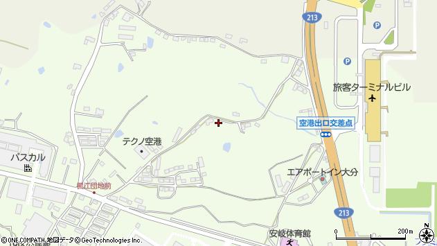 大分県国東市安岐町下原111周辺の地図