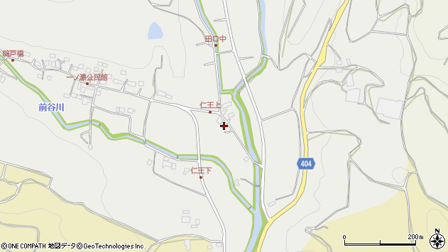 大分県国東市安岐町吉松132周辺の地図