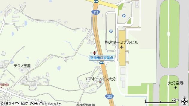 大分県国東市安岐町下原5周辺の地図