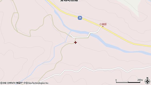 大分県国東市安岐町山浦1007周辺の地図