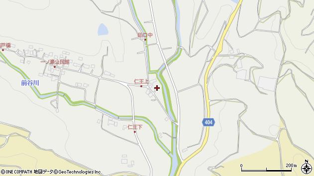 大分県国東市安岐町吉松3226周辺の地図