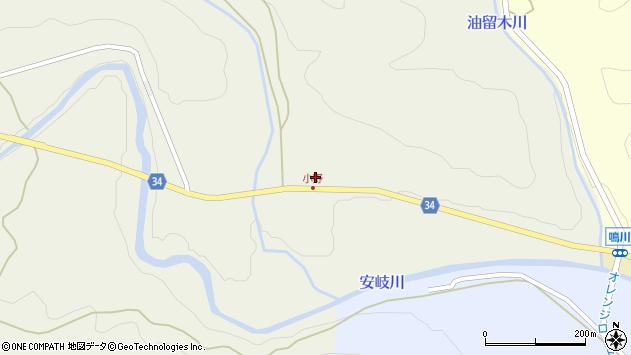 大分県国東市安岐町掛樋469周辺の地図