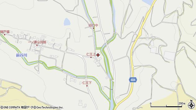 大分県国東市安岐町吉松3222周辺の地図