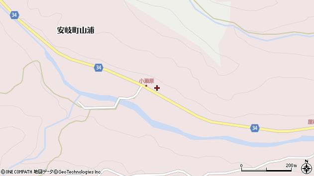 大分県国東市安岐町山浦269周辺の地図