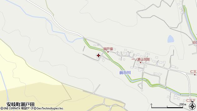 大分県国東市安岐町吉松472周辺の地図