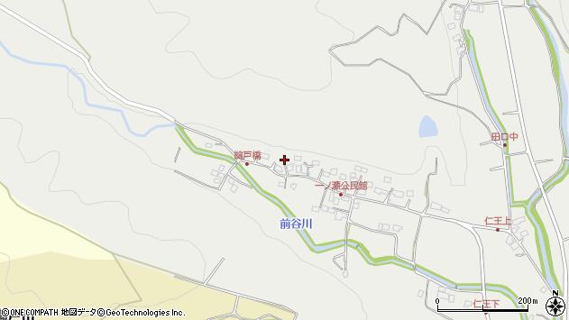 大分県国東市安岐町吉松262周辺の地図