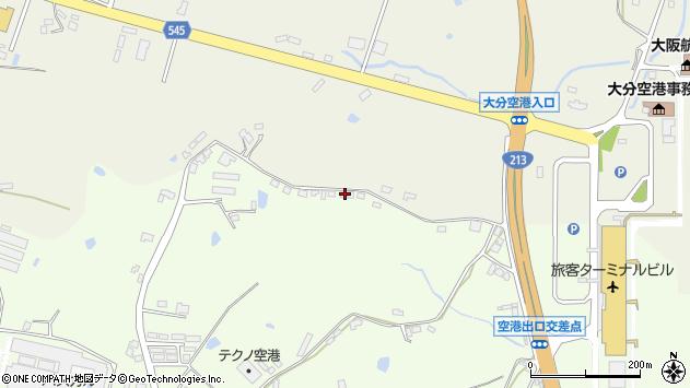 大分県国東市安岐町下原72周辺の地図