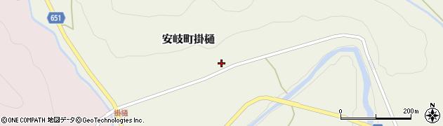 大分県国東市安岐町掛樋829周辺の地図