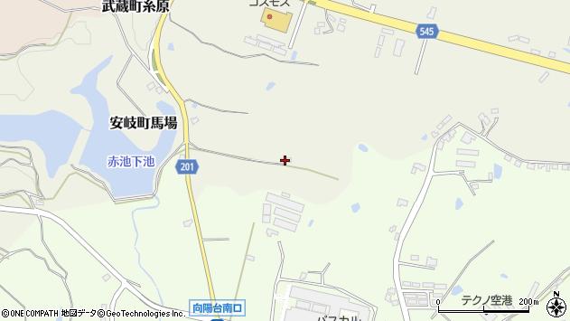 大分県国東市武蔵町糸原4101周辺の地図