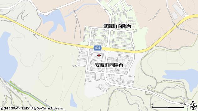 大分県国東市安岐町向陽台13周辺の地図