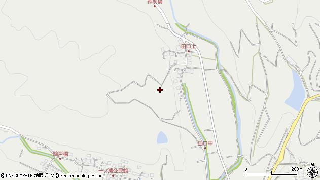 大分県国東市安岐町吉松田口周辺の地図