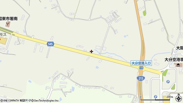 大分県国東市武蔵町糸原3746周辺の地図