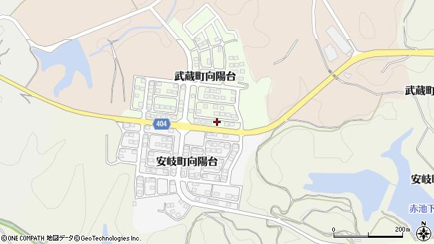 大分県国東市武蔵町向陽台3周辺の地図