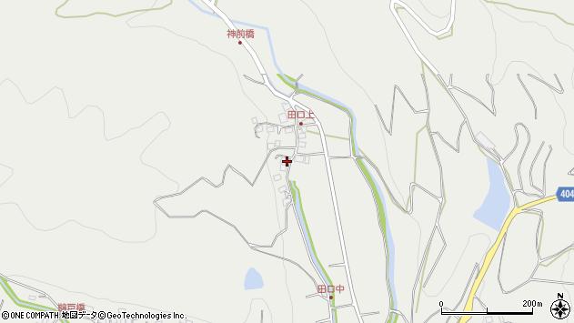 大分県国東市安岐町吉松3024周辺の地図