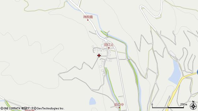 大分県国東市安岐町吉松3005周辺の地図