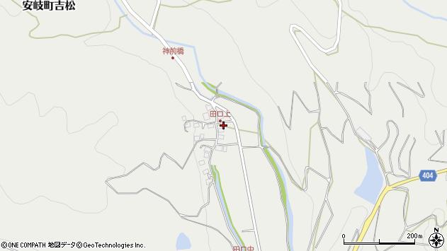 大分県国東市安岐町吉松3009周辺の地図