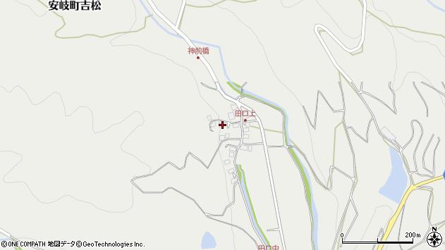 大分県国東市安岐町吉松2999周辺の地図
