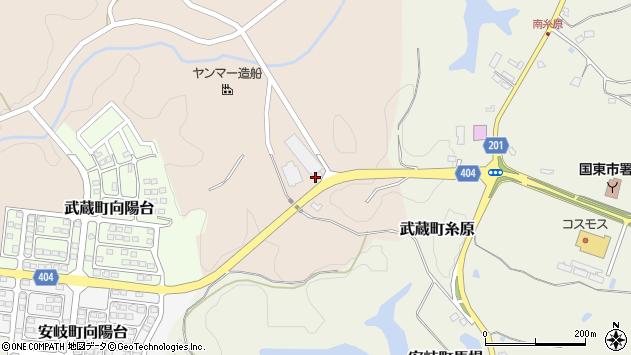 大分県国東市武蔵町小城51周辺の地図