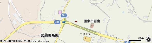 大分県国東市武蔵町糸原4153周辺の地図