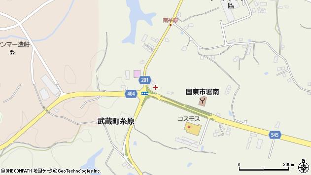 大分県国東市武蔵町糸原3908周辺の地図