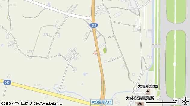 大分県国東市武蔵町糸原3502周辺の地図