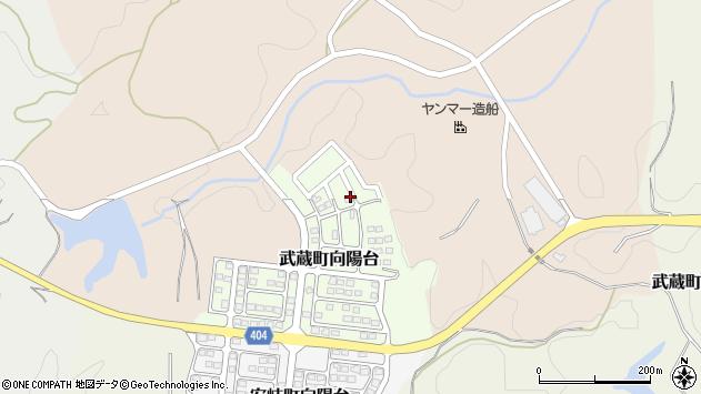 大分県国東市武蔵町向陽台10周辺の地図