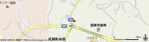 大分県国東市武蔵町糸原3907周辺の地図