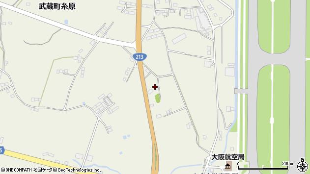 大分県国東市武蔵町糸原3505周辺の地図