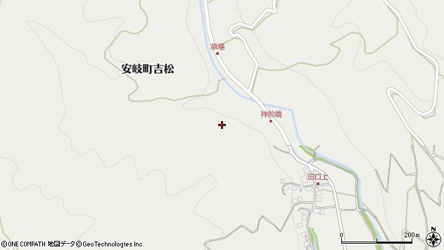 大分県国東市安岐町吉松野々田周辺の地図