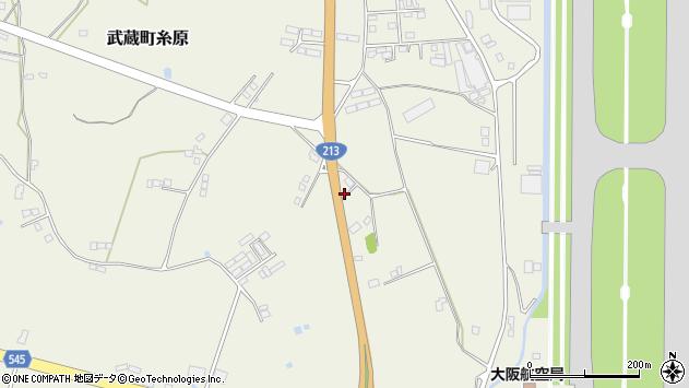 大分県国東市武蔵町糸原3496周辺の地図