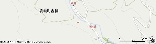 大分県国東市安岐町吉松2735周辺の地図