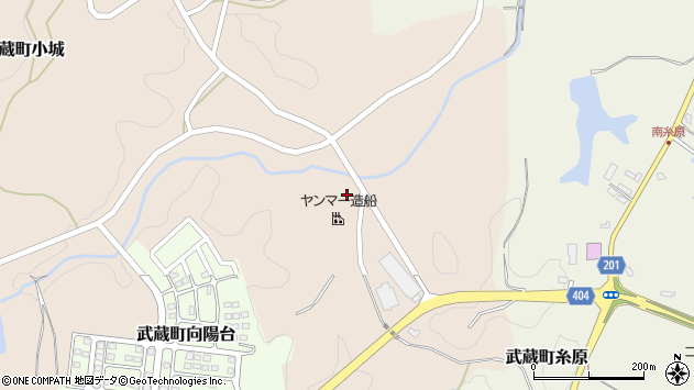 大分県国東市武蔵町小城118周辺の地図