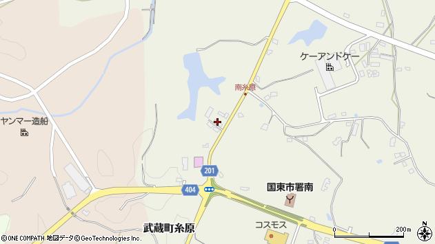 大分県国東市武蔵町糸原2598周辺の地図