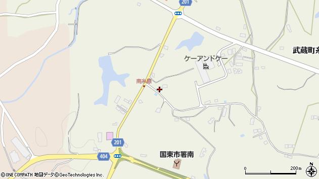 大分県国東市武蔵町糸原3898周辺の地図