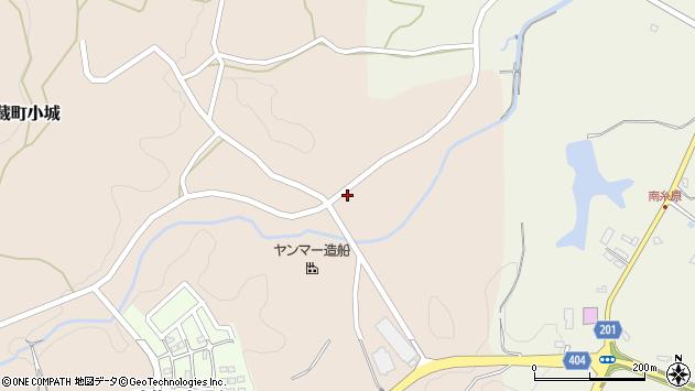 大分県国東市武蔵町小城697周辺の地図