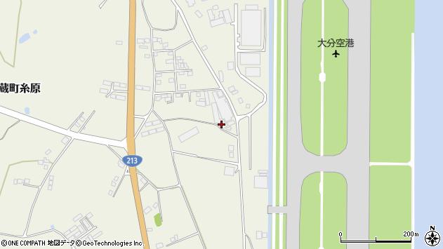 大分県国東市武蔵町糸原3291周辺の地図