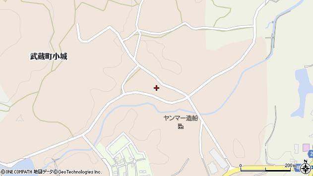 大分県国東市武蔵町小城273周辺の地図